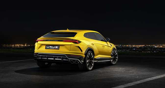 Back/Side of Lamborghini Urus 4.0 V8 AWD Automatic, 650hp, 2018