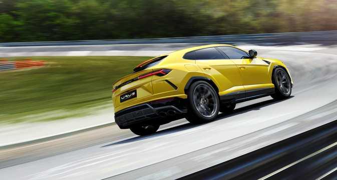 Bak/Sida av Lamborghini Urus 4.0 V8 AWD Automatisk, 650hk, 2018