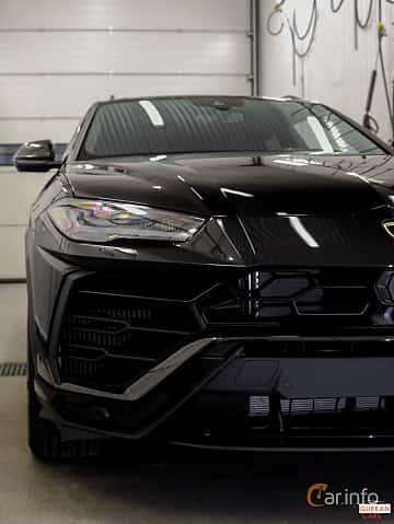 Close-up of Lamborghini Urus 4.0 V8 AWD Automatic, 650ps, 2018