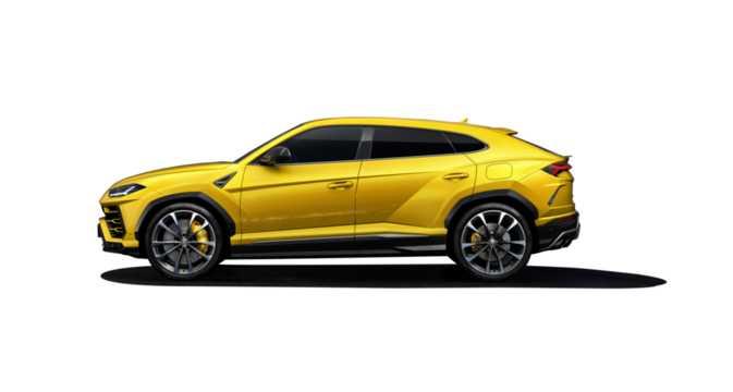 Side  of Lamborghini Urus 4.0 V8 AWD Automatic, 650hp, 2018