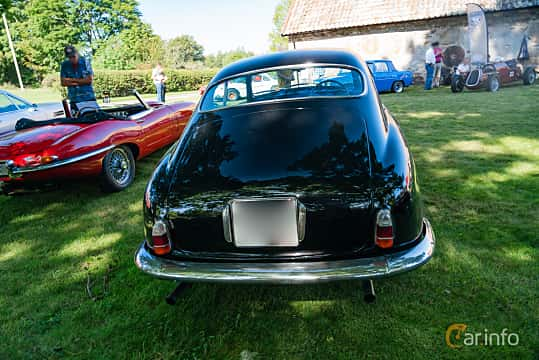 Back of Lancia Aurelia Berlina 2.3 V6 Manual, 87ps, 1955 at Sportbilsklassiker Stockamöllan 2019