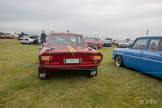 Bak av Lancia Fulvia Coupé 1.2 V4 Manual, 80ps, 1967 på Vallåkraträffen 2019