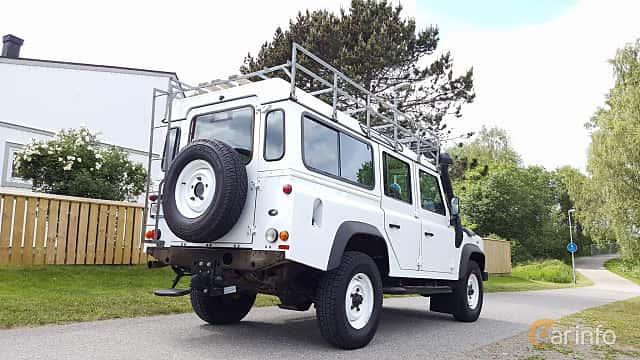 Back/Side of Land Rover Defender 110 Station Wagon 2.4 TD4 4x4 Manual, 122ps, 2011