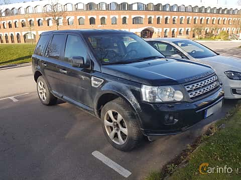 Front/Side of Land Rover Freelander 2.2 SD4 4WD Automatic, 190ps, 2012