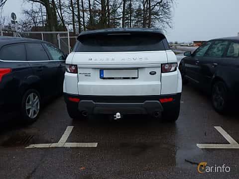 Bak av Land Rover Range Rover Evoque 5-door 2.2 SD4 4WD Automatic, 190ps, 2012