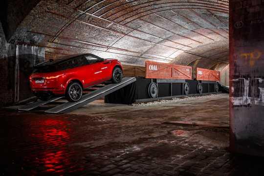 Back/Side of Land Rover Range Rover Evoque 2019