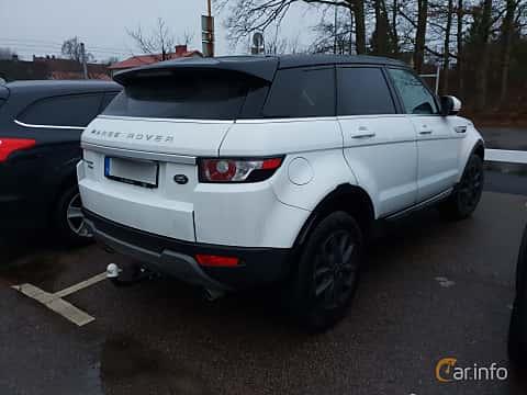 Bak/Sida av Land Rover Range Rover Evoque 5-door 2.2 SD4 4WD Automatic, 190ps, 2012