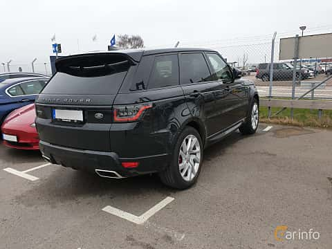 Back/Side of Land Rover Range Rover Sport P400e 2.0 + 13.1 kWh 4WD Automatic, 404ps, 2019
