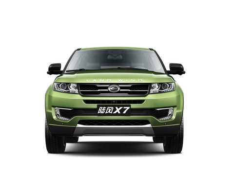 Front  of Landwind X7 2.0 193hp, 2015