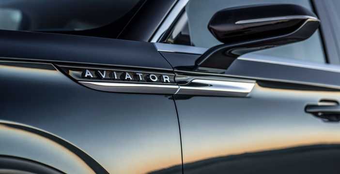 Close-up of Lincoln Aviator Concept Concept, 2018