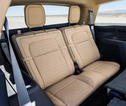 Interior of Lincoln Aviator Concept Concept, 2018