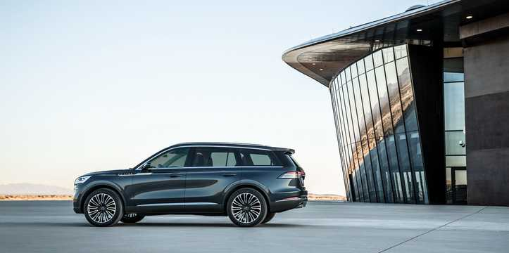 Side  of Lincoln Aviator Concept Concept, 2018