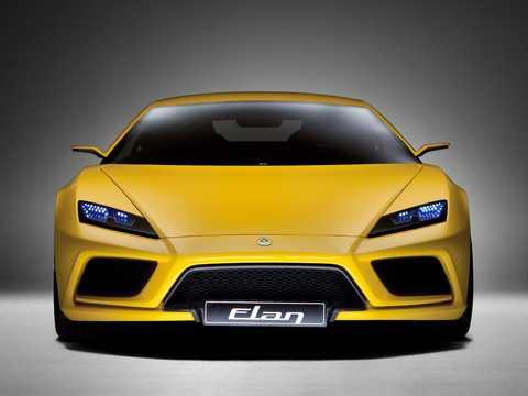 Front  of Lotus Elan 4.0 V6 DCT, 450hp, 2010