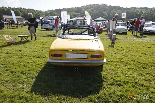 Back of Lotus Elan Roadster 1.5 Manual, 116ps, 1966 at Tjolöholm Classic Motor 2018