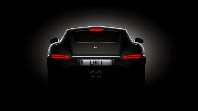 Back of Lyonheart K Coupé 5.0 V8 Automatic, 575hp, 2013