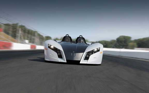 Front  of Magnum MK5 1.3 Sequential, 254hp, 2015