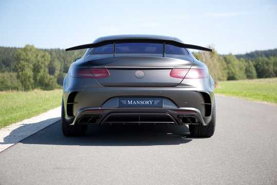 Back of Mansory S 63 AMG Black Edition  , 1014hp, 2015