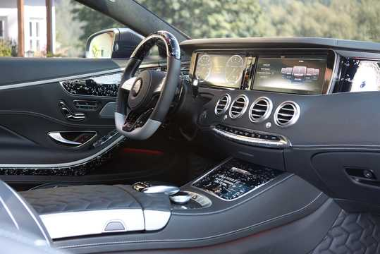 Interior of Mansory S 63 AMG Black Edition  , 1014hp, 2015