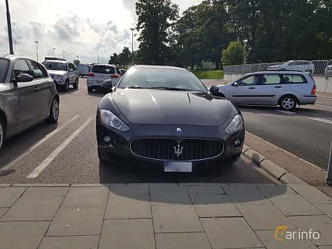 Front  of Maserati GranTurismo 4.2 V8  Automatic, 411ps, 2008