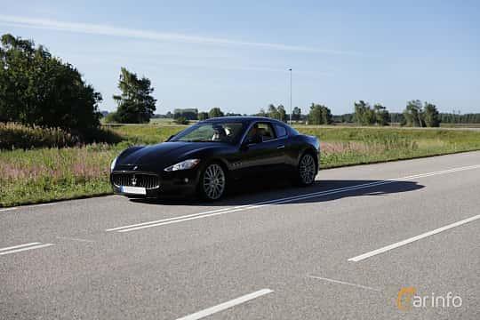 Fram/Sida av Maserati GranTurismo S 4.7 V8  Automatic, 441ps, 2011 på Lergökarallyt 2018