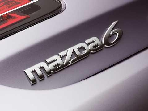 Närbild av Mazda 6 Sport 2008