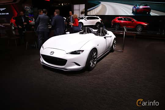 Mazda MX-5 Miata Speedster Evolution Concept 2016 by franzhaenel