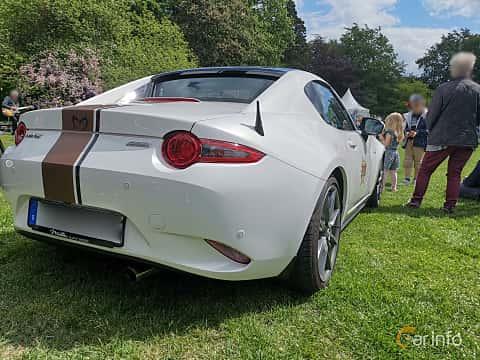 Back/Side of Mazda MX-5 RF 2.0 SKYACTIV-G Manual, 160ps, 2017 at Sofiero Classic 2019