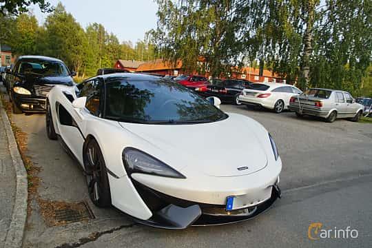 Front/Side  of McLaren 570S 3.8 V8 DCT, 570ps, 2016 at Onsdagsträffar på Gammlia Umeå 2019 vecka 35