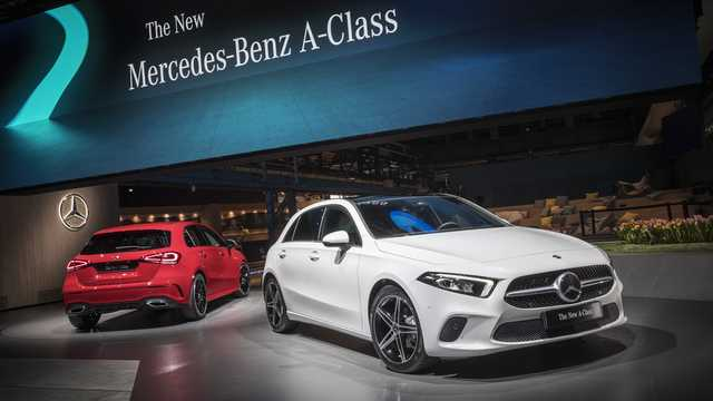 Front/Side  of Mercedes-Benz A-Class 2019