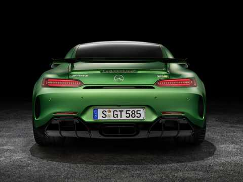 Back of Mercedes-Benz AMG GT R  AMG Speedshift DCT, 585hp, 2018