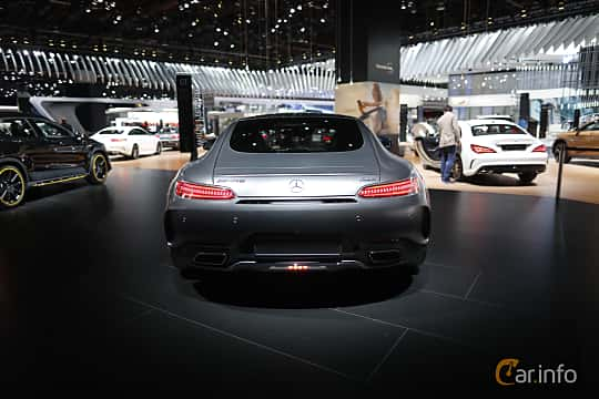 Bak av Mercedes-Benz AMG GT C 4.0 V8 AMG Speedshift DCT, 557ps, 2018 på North American International Auto Show 2017