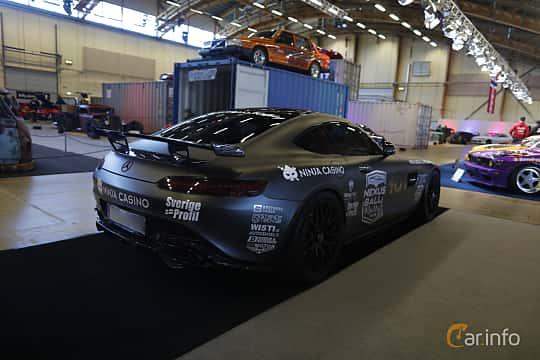 Bak/Sida av Mercedes-Benz AMG GT S  AMG Speedshift DCT, 510ps, 2016 på Bilsport Performance & Custom Motor Show 2019