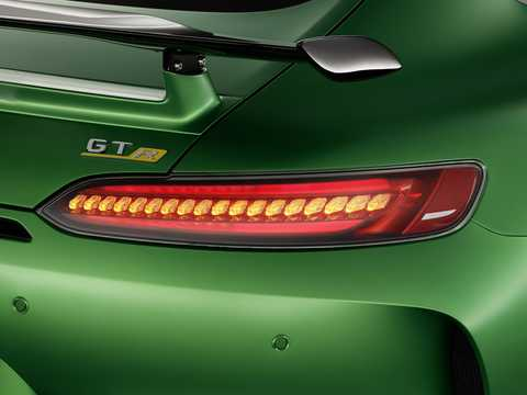 Close-up of Mercedes-Benz AMG GT R  AMG Speedshift DCT, 585hp, 2018