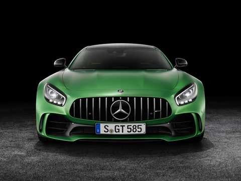Front  of Mercedes-Benz AMG GT R  AMG Speedshift DCT, 585hp, 2018