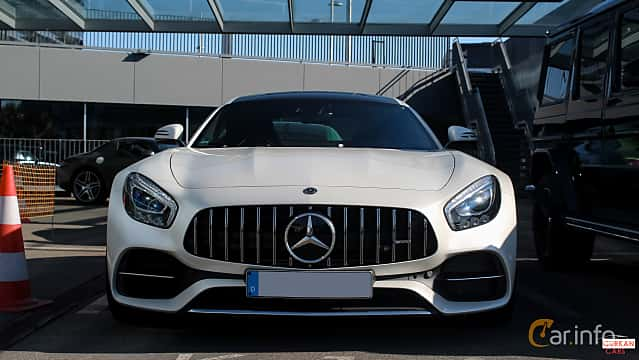 Front  of Mercedes-Benz AMG GT  AMG Speedshift DCT, 476ps, 2017