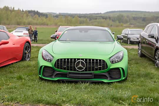 Front  of Mercedes-Benz AMG GT R  AMG Speedshift DCT, 585ps, 2017 at Lucys motorfest 2019