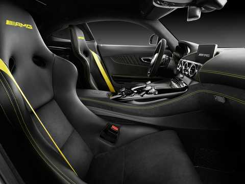 Interior of Mercedes-Benz AMG GT R  AMG Speedshift DCT, 585hp, 2018