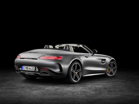 Back/Side of Mercedes-Benz AMG GT C Roadster  AMG Speedshift DCT, 557hp, 2018