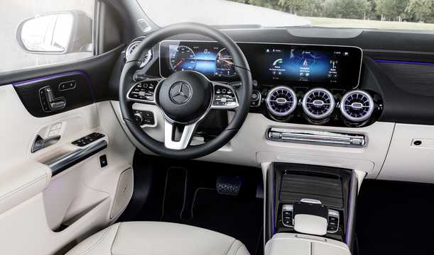 Interior of Mercedes-Benz B-Class Sports Tourer 2019