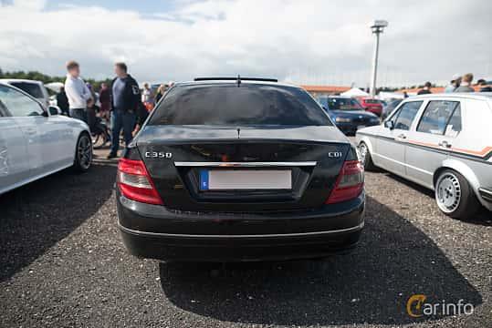 Bak av Mercedes-Benz C 350 CDI 3.0 V6 7G-Tronic, 224ps, 2010 på Tyskträffen 2017