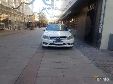Fram av Mercedes-Benz C 200 Kompressor 1.8 5G-Tronic, 184ps, 2008