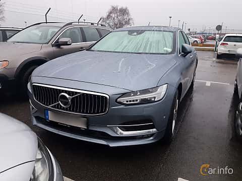Front/Side  of Volvo S90 2.0 D5 AWD Geartronic, 235ps, 2017