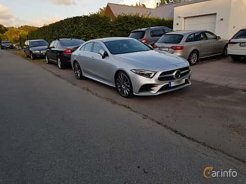 Fram/Sida av Mercedes-Benz CLS 350 d 4MATIC 3.0 4MATIC 9G-Tronic, 286ps, 2018