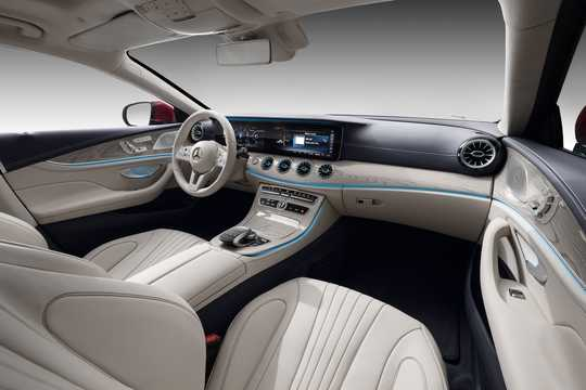 Interior of Mercedes-Benz CLS-Class Coupé 2019