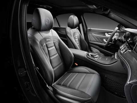 Interior of Mercedes-Benz AMG E 63 S 4MATIC+  , 612hp, 2017