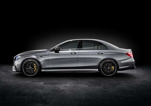 Side  of Mercedes-Benz AMG E 63 S 4MATIC+  , 612hp, 2017