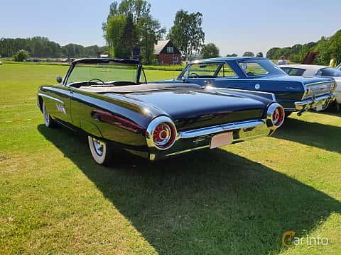 Back/Side of Ford Thunderbird Convertible 1963 at Eddys bilträff Billesholm 2019 Tema Opel och Chevrolet