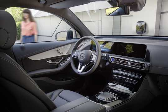 Interior of Mercedes-Benz EQC 400  Single Speed, 408hp, 2019