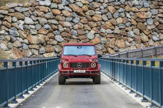 Front  of Mercedes-Benz G 350 d  9G-Tronic, 286hp, 2019