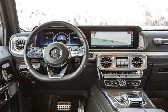 Interior of Mercedes-Benz G 350 d  9G-Tronic, 286hp, 2019